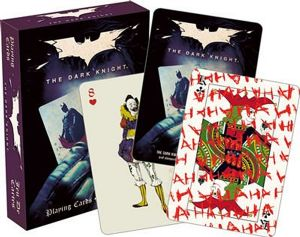 Batman The Dark Knight set of 52 playing cards (+ jokers)  (nm)